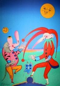 """Литография """"Танец весны"""" 45"""