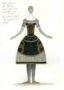 D760 Жикле Эскиз костюма Олимпии (вид сзади)
