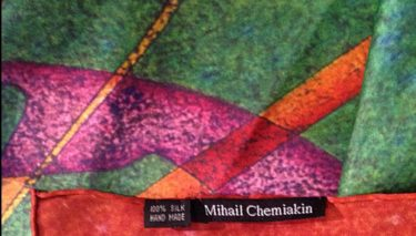 Авторский платок Chemiakin 90х90