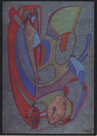 Репродукция афиши выставки в г.Нью-Йорк. 1980 г.