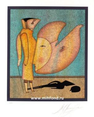 3 лист папки 5 литографий Карнавалы Санкт-Петербурга