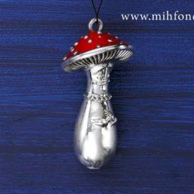 Елочная игрушка Гриб CHEMIAKIN 047