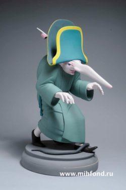 Крыс из процессии. Скульптура М.Шемякина