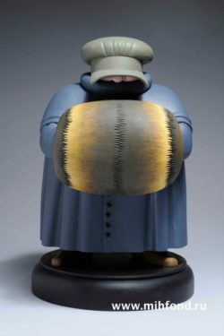 Уходящий гость (ребенок) fb12. Скульптура М.Шемякина