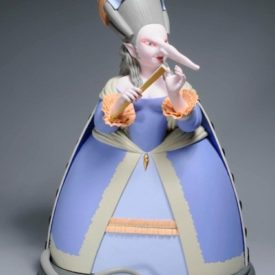 Крысиная принцесса. Скульптура М.Шемякина