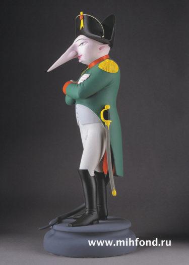 Крыса Наполеон. Скульптура М.Шемякина
