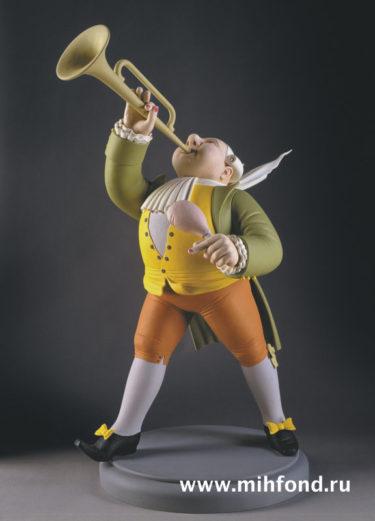Гость весельчак. Скульптура М.Шемякина