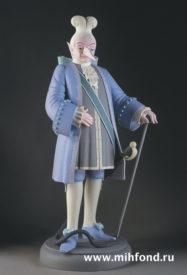 Крыса-наследный принц. Скульптура М.Шемякина