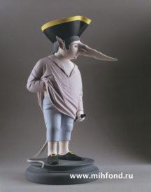 Крысёнок-пьяница. Скульптура М.Шемякина