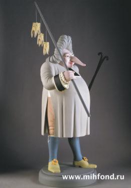 Доктор зубодёр. Скульптура М.Шемякина