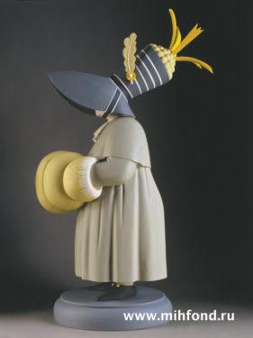 Уходящий гость. Скульптура М.Шемякина