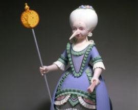 Скульптура «Крыса-наследный принц»  fb17
