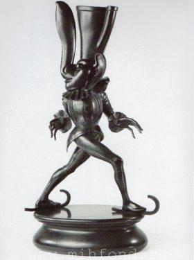 Бронзовая скульптура 'Карнавал Санкт-петербурга 01' Автор М.Шемякин