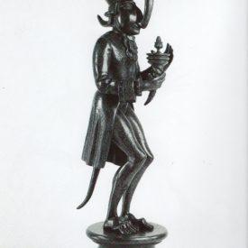 Бронзовая скульптура 'Карнавал Санкт-петербурга 03' Автор М.Шемякин