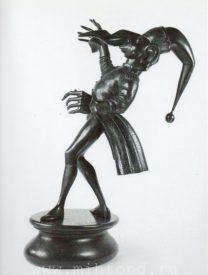 Бронзовая скульптура 'Карнавал Санкт-петербурга 04' Автор М.Шемякин