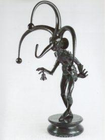 Бронзовая скульптура 'Карнавал Санкт-петербурга 07' Автор М.Шемякин