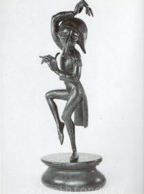 Бронзовая скульптура 'Карнавал Санкт-петербурга 08' Автор М.Шемякин