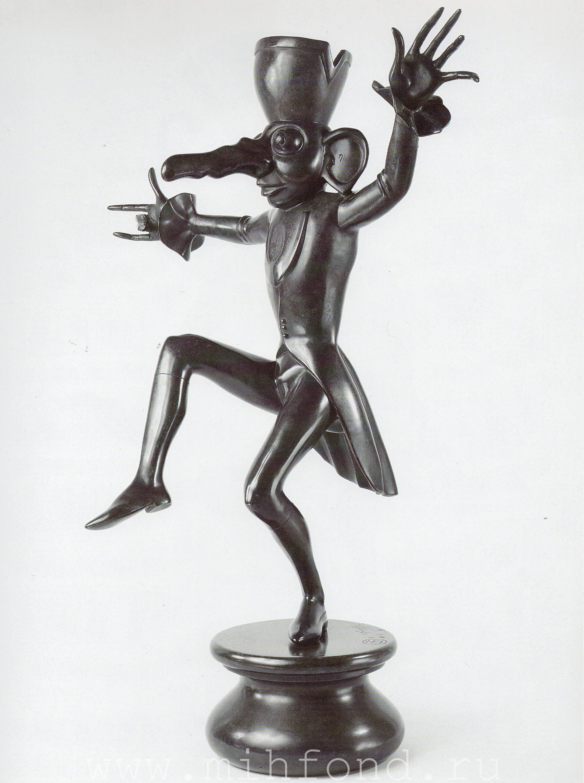 Бронзовая скульптура 'Карнавал Санкт-петербурга 09' Автор М.Шемякин