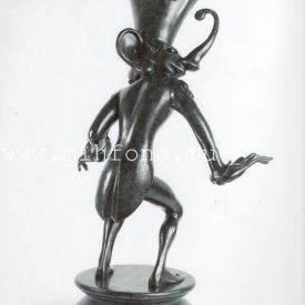 Бронзовая скульптура 'Карнавал Санкт-петербурга 10' Автор М.Шемякин