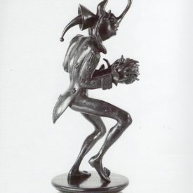 Бронзовая скульптура 'Карнавал Санкт-петербурга 12' Автор М.Шемякин