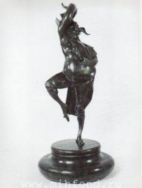 Бронзовая скульптура 'Карнавал Санкт-петербурга 13' Автор М.Шемякин