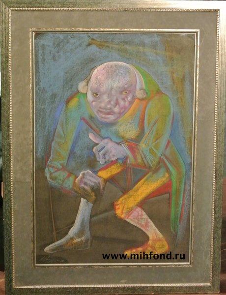"""Пастель из серии """"Из жизни Рембрандта"""""""