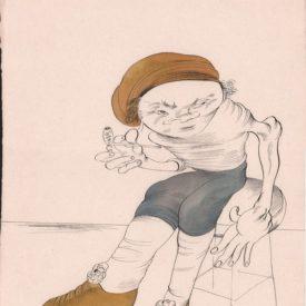 """М.Шемякин. Работа из серии """"Из жизни Рембрандта"""" 1546 (342) 1546(342)_38_51"""