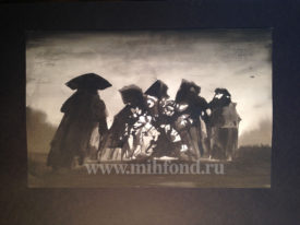 М.Шемякин. Рисунок в стиле Дзен 5546