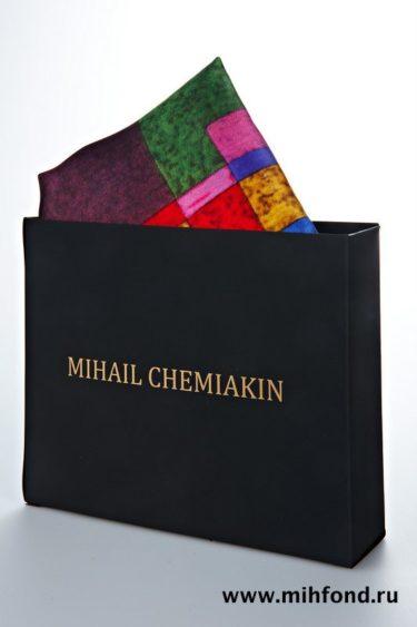 Платок Chemiakine 05 Из серии Трансформации 90х90