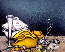 Сериография «Тень с зеркалом» Gold de Lux
