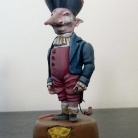"Скульптура ""Крысенок-воришка"" 54 мм"