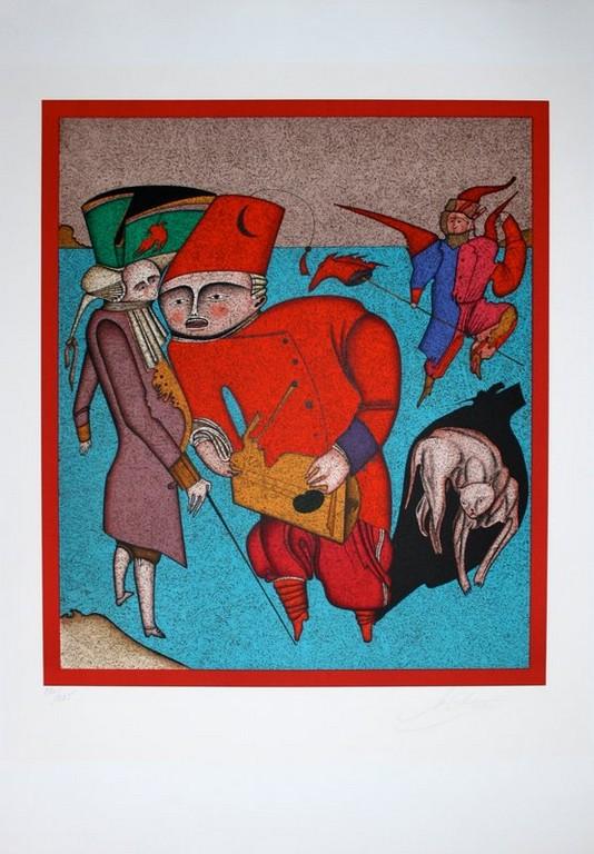 """Литография """"Красная феска"""" 32"""