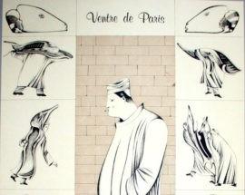 """Литография """"Чрево Парижа"""" 4"""