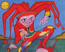"""Литография """"Крыса-садовник"""" 05"""