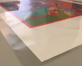Файл прозрачный для хранения литографий и жикле А1