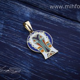 Кулон-подвес «Святой Христофор»