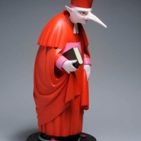 Кардинал Крысылье. Скульптура М.Шемякина
