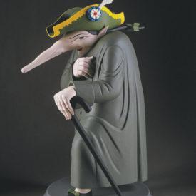 Большой крыс. Скульптура М.Шемякина