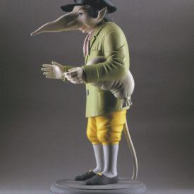 Крысёнок. Скульптура М.Шемякина
