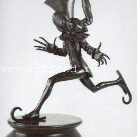 Бронзовая скульптура 'Карнавал Санкт-петербурга 02' Автор М.Шемякин
