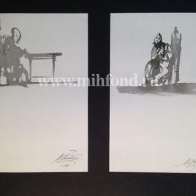 М.Шемякин. Рисунок в стиле Дзен 5597-5598
