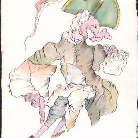 М,Шемякин, Существо, возникшее из пятна 1621_37_49-001