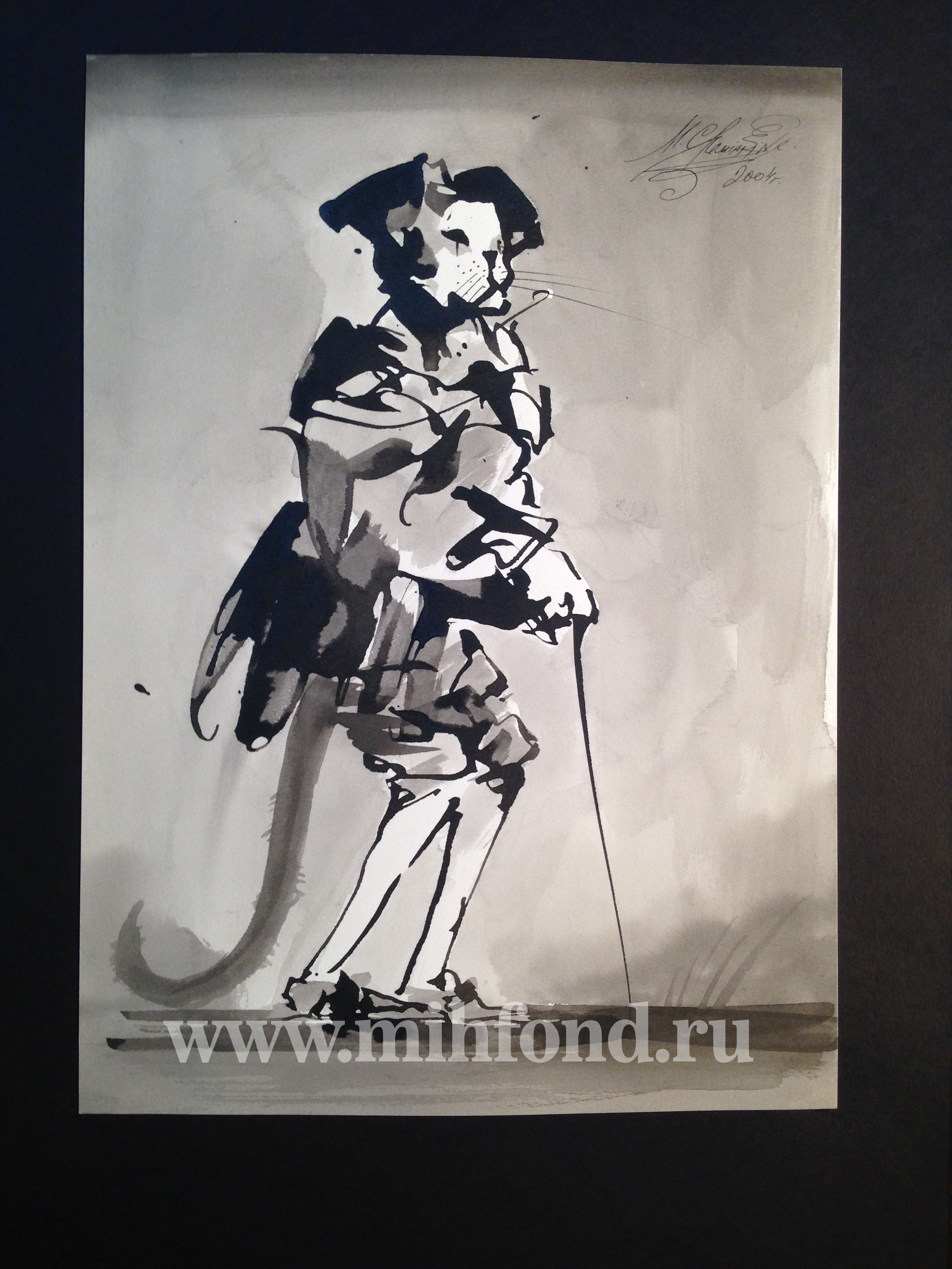 М.Шемякин. Рисунок в стиле Дзен 5632