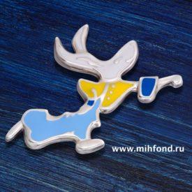 "Кулон-подвес ""Танцующий заяц"" М.Шемякин"