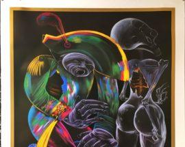 "Афиша №12. Плакат ""Chemiakin-Gribaudo-Metaphisical Art 04"""
